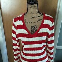 Tommy Hilfiger Striped v-Neck Sweater Photo