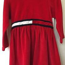 Tommy Hilfiger Toddler 2t Red Dress With Hood Photo