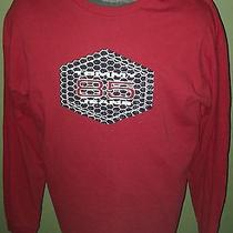 Tommy Hilfiger Tommy Jeans Red 85 Spell Out Long Sleeve T-Shirt Xl Hip-Hop Photo