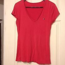 Tommy Hilfiger v Neck T Shirt Photo