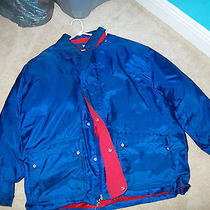 Tommy Hilfiger Winter Jacket Solid Blue Photo