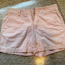 Tommy Hilfiger Women's Shorts Size 4 Light Pink Blush Chinos Khakis Photo