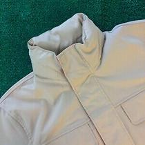 Tommy Hilfiger Yacht Club Men's Tan / Orange Shell Jacket - Small Photo