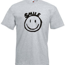 Tomorrow Land Smiley Face House Music Inspired Men's Printed T-Shirt Photo