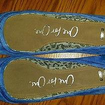 Toms Ballet Flat Blue Eliana Size 7.5 Photo