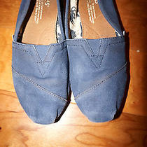 Toms Blue6100%Authenticgently Broken Inso Trendy Photo