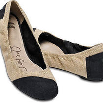 Toms Burlap Ballet Flats  Photo