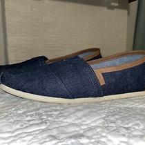 Toms Dark Denim Cloudbound Alpargatas Slip on Shoes Men's 13 Photo
