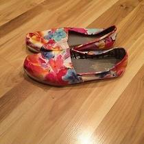 Toms Floral Print Shoes Photo