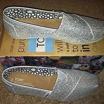 Toms Glitter Silver New Photo