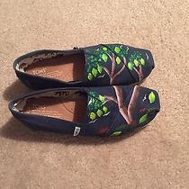Toms Hand Painted Women's Size 7.5 Photo