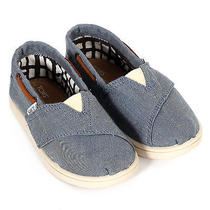Toms Infants Tiny Chambray Bimini Size 9 Photo