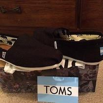Toms New in Box - Black - w8.5 Photo