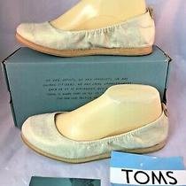 Toms New Olivia Blush Ballet Flats Pink Beige Slip on Shoes Womens Size 7  New Photo