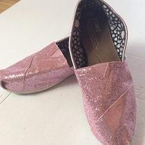 Toms Pink Sparkle Women's Oxfords Size 8w Photo
