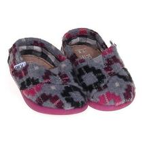 Toms Slip-Ons Size 3 Infant Photo