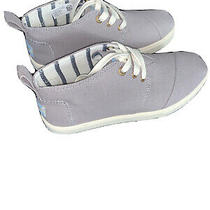 Toms Sneakers Size 6.5 Color Gray Photo