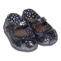 Toms Sparkly Flats Size 4 Infant Photo