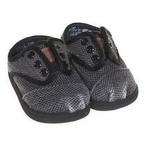 Toms Stylish Slip-Ons Size 3 Infant Photo