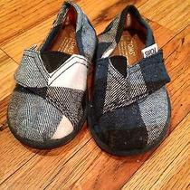 Toms Tiny Baby Boys Shoes Size 3 Photo