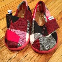 Toms Tiny Baby Boys Shoes Size 4 Photo