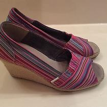 Toms Wedges Size 8 Photo