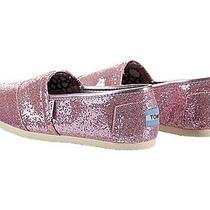 Toms Women's Toms Classics Casual Shoes 7.5 (Pink Glitter) Photo
