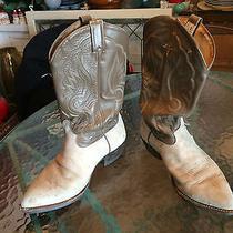 Tony Loma Grunge Leather Cowboy Boots Size 9 Ee Photo