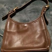 Too Cute Coach Small Brown Leather Purse Photo