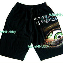 Tool Short Pants Black Free Size Rock Alternative Metal Band Monster Eye Tattoo Photo