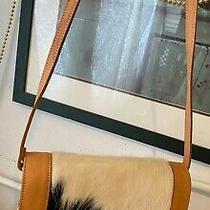 Tooled Western Cow Hair Flap Messenger Organizer Leather Hobo Shoulder Bag Purse Photo