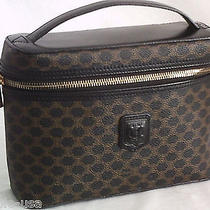 Top Qlty Celine Monogram Camera Box Bag Handbag Purse-Black-Made in Italy-Mint Photo