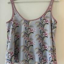 Top Shop Lafies Floral Summer Vest Size 8 Excellent Photo