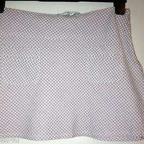 Top Shop Skirt Mini Gray Check Size 10 Photo