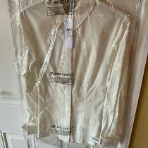 Top Shop White Long Sleeve Ladies Shirt Blouse Womens Brand New With Tags Uk 6 Photo