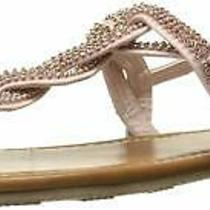 Topline Womens Mckayla Open Toe Casual Ankle Strap Sandals Blush Size 7.5 Qkro Photo
