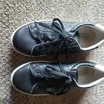 Topshop Black Sneakers Size 38 (7 Us) Made in Italy Photo