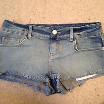 Topshop Blue Denim Shorts Photo