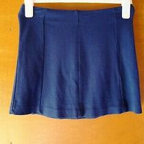 Topshop Blue Short Skirt Size 10 - Selling for Charity Photo