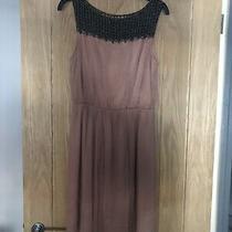 Topshop Blush Beaded Grecian Style Dress Uk 10 Photo
