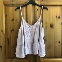 Topshop - Blush Pink Strappy Cami Swing Top - Size 14 - Bnwt New With Tags Photo