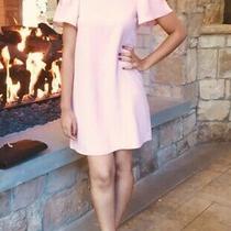 Topshop Blush Short Off the Shoulder Dress Size 2 Photo