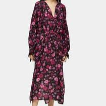 Topshop Boutique Silk Tie Dye Maxi Dress Size M (10) Rrp 120 Net a Porter Photo