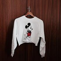 Topshop Crop Top Sweatshirt Photo