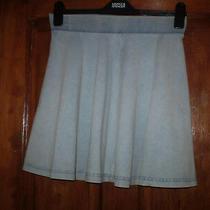 Topshop Denim Skirt Size 10 Photo