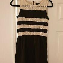 Topshop Dress With Lace Size 8 Photo