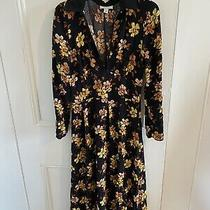 Topshop Floral Slit Dress Size 8 Photo