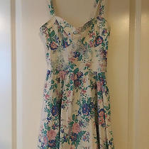 Topshop Flower Floral Summer Dress Photo