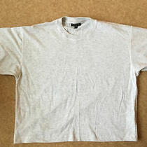 Topshop Grey Slightly Cropped Top Size Xs / S - Kind of Oversized / Baggy Fit Photo