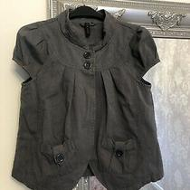 Topshop Ladies Grey Blazer Size 8 Photo